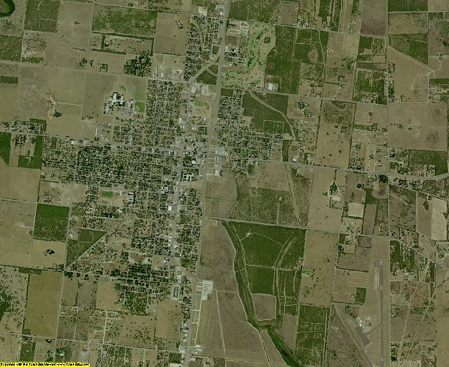 Brooks County, Texas aerial photography