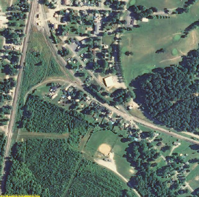 Bullitt County, KY aerial photography detail