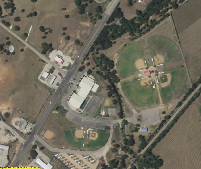 Burnet County, TX aerial photography detail