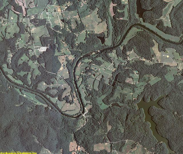 Butler County, Kentucky aerial photography