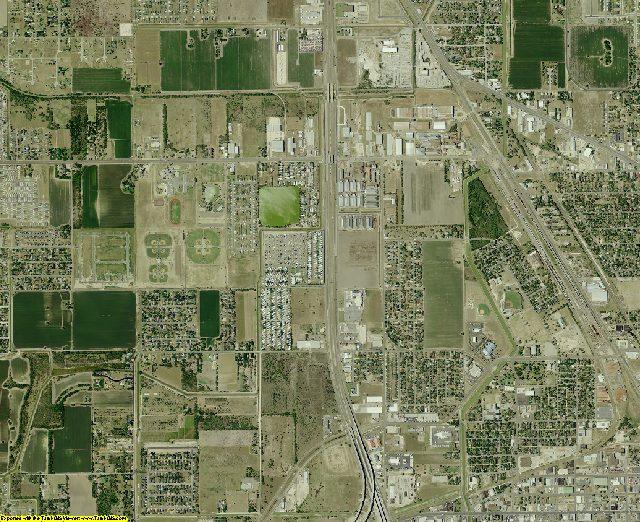 Cameron County, Texas aerial photography
