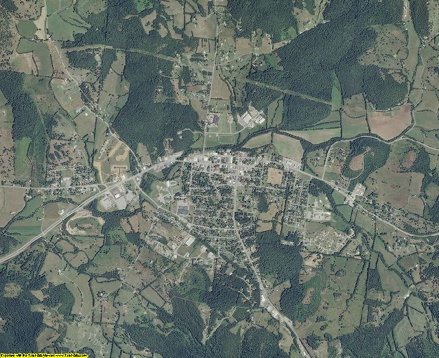 Cannon County, Tennessee aerial photography