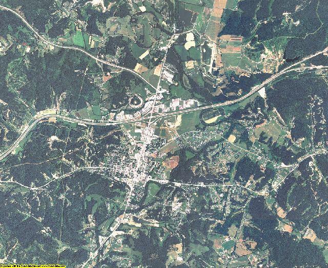 Carter County, Kentucky aerial photography