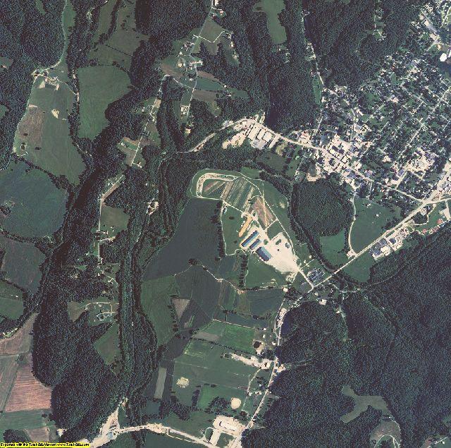 Casey County, Kentucky aerial photography