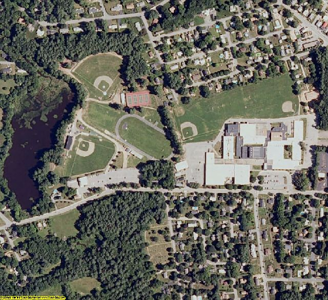 Cheshire County, NH aerial photography detail