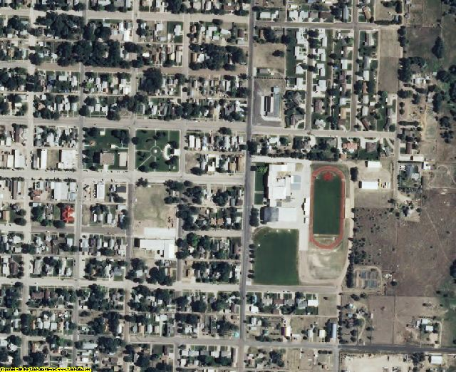 Cheyenne County, KS aerial photography detail