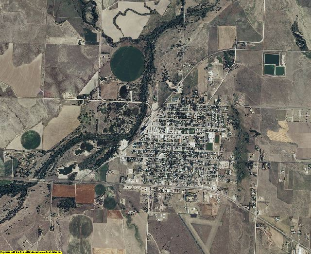 Cheyenne County, Kansas aerial photography