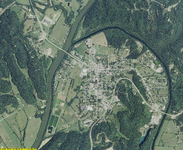 Clay County, Tennessee aerial photography