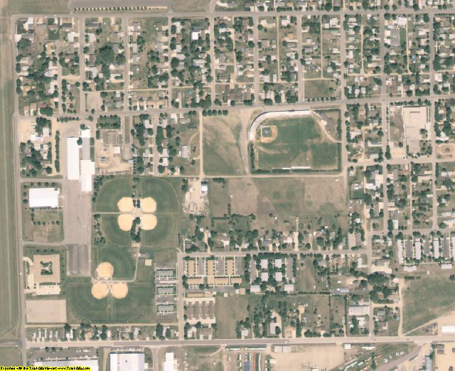 Codington County, SD aerial photography detail