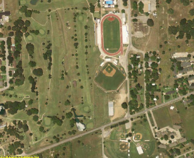 Colorado County, TX aerial photography detail