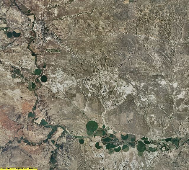 Converse County, Wyoming aerial photography