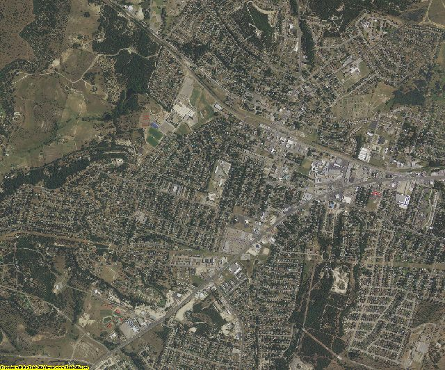 Coryell County, Texas aerial photography