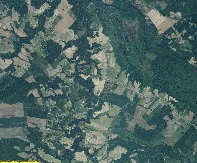 Craven County, North Carolina aerial photography