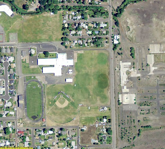 Crook County, OR aerial photography detail