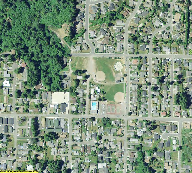 Curry County, OR aerial photography detail