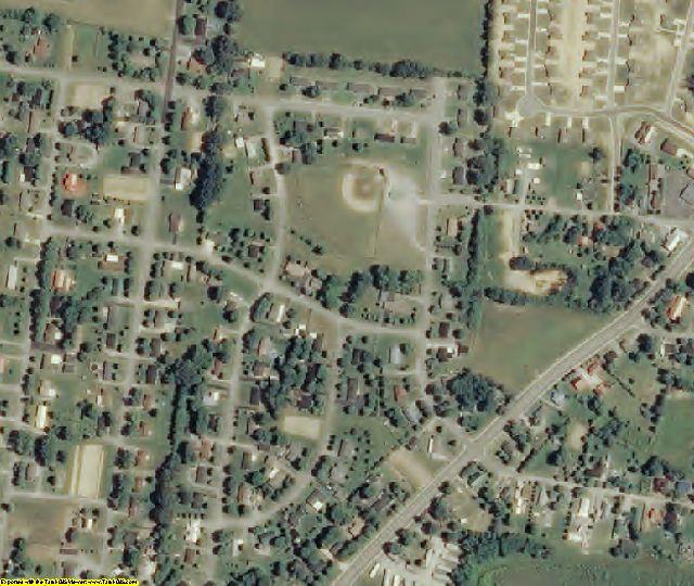 DeKalb County, TN aerial photography detail