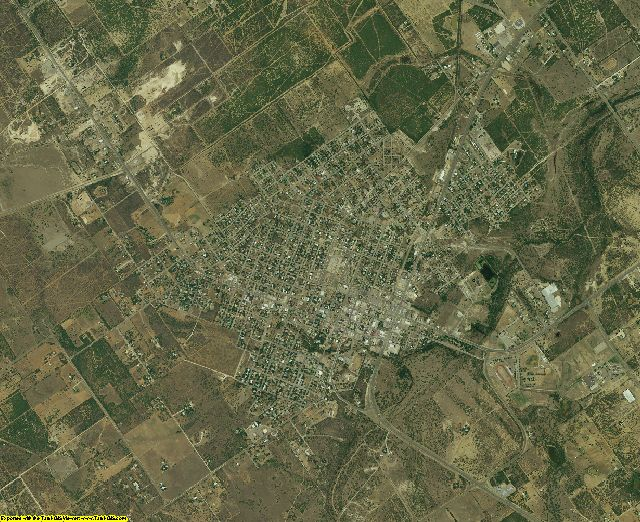 Dimmit County, Texas aerial photography
