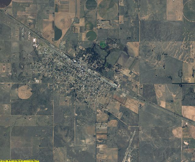 Donley County, Texas aerial photography