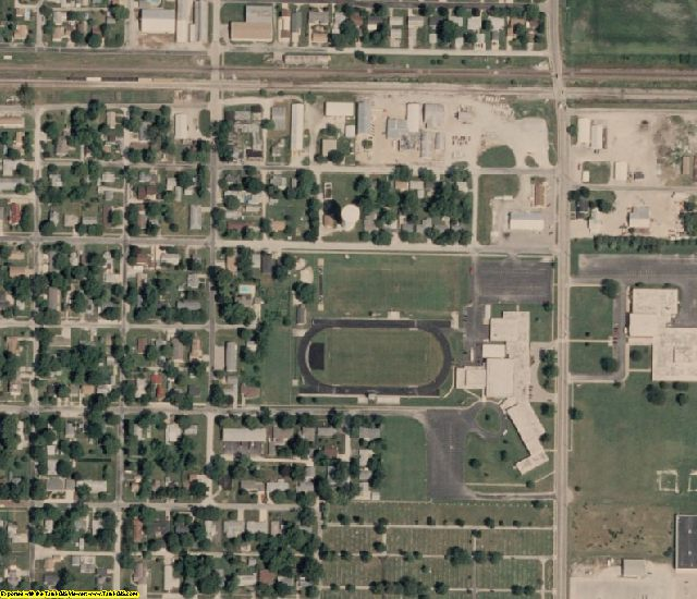 Douglas County, IL aerial photography detail