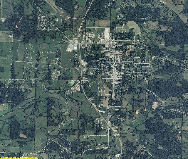 Douglas County, Missouri aerial photography