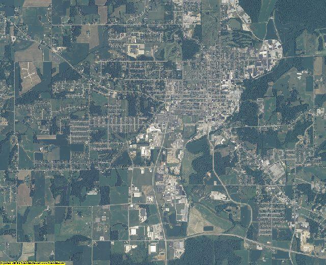 Dubois County, Indiana aerial photography