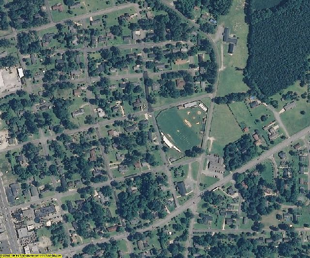 Duplin County, NC aerial photography detail