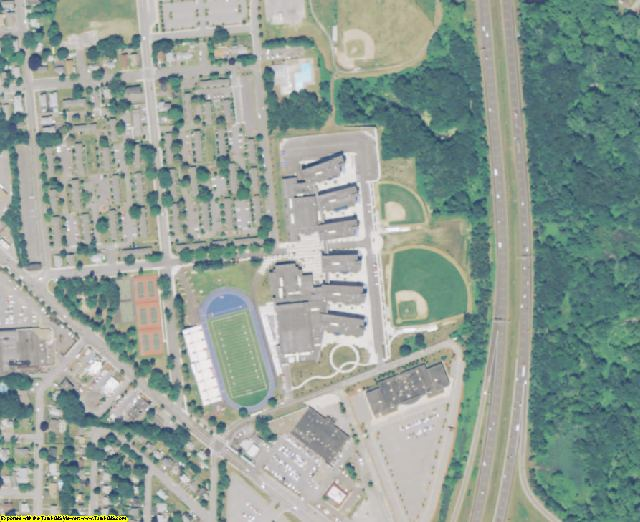 Essex County, MA aerial photography detail