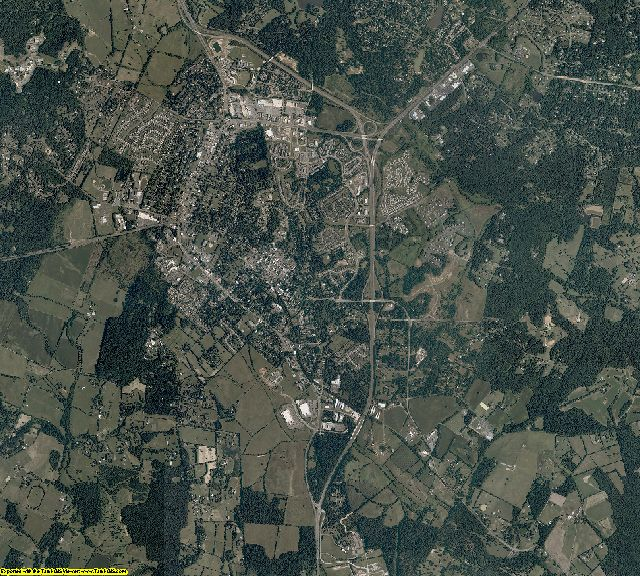 Fauquier County, Virginia aerial photography