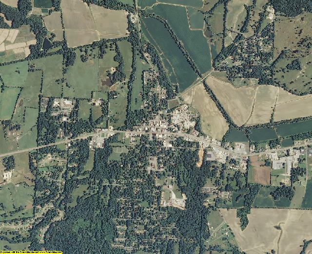 Fayette County, Tennessee aerial photography