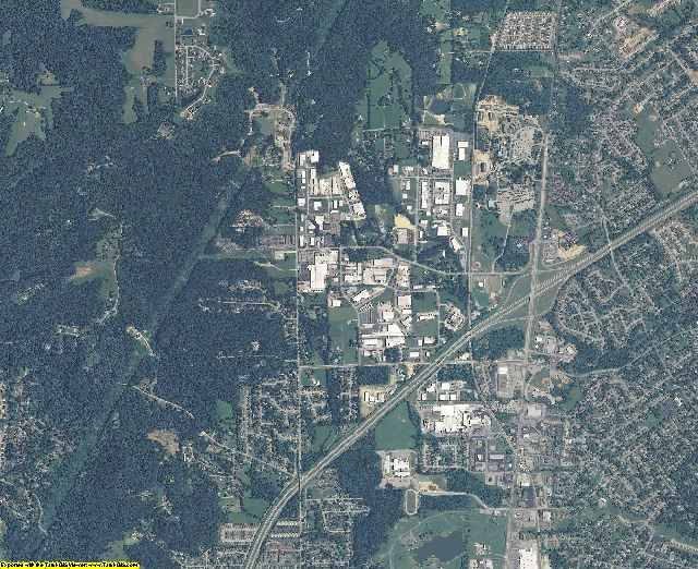 Floyd County, Indiana aerial photography
