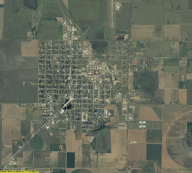 Floyd County, Texas aerial photography
