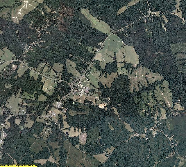 Fluvanna County, Virginia aerial photography