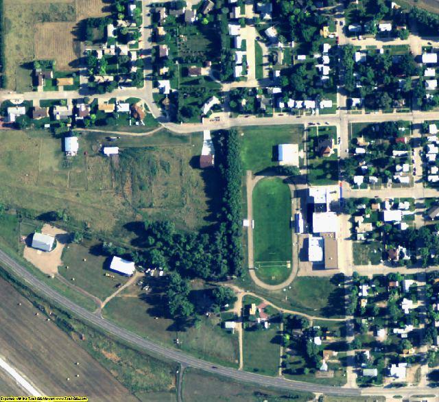 Garden County, NE aerial photography detail