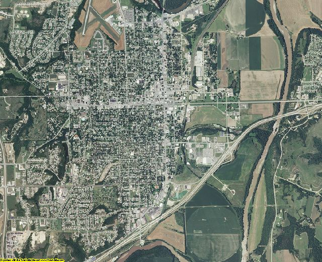 Geary County, Kansas aerial photography