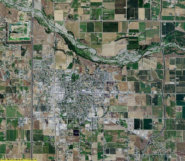 Glenn County, California aerial photography