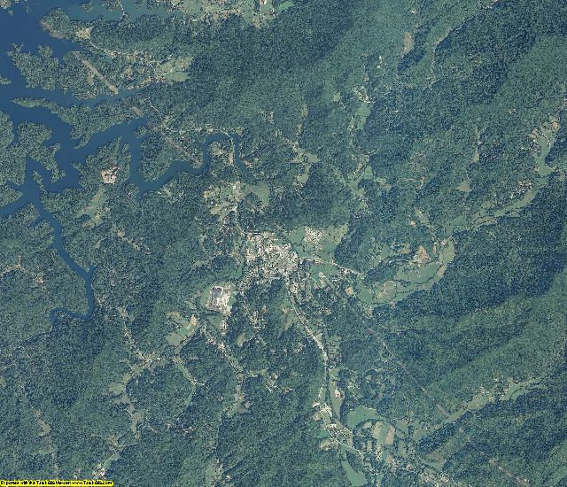 Graham County, North Carolina aerial photography