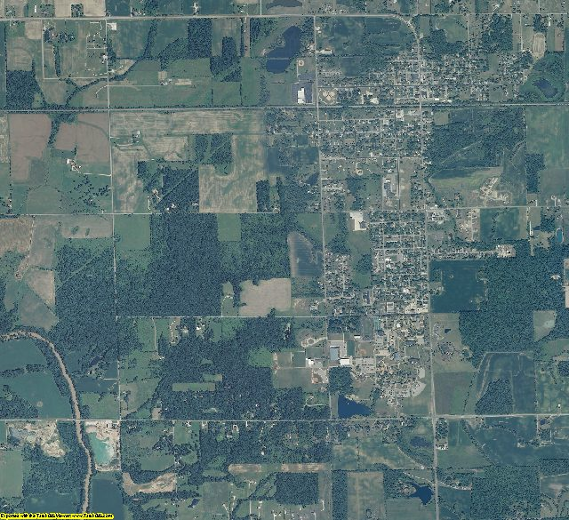 Grant County, Indiana aerial photography
