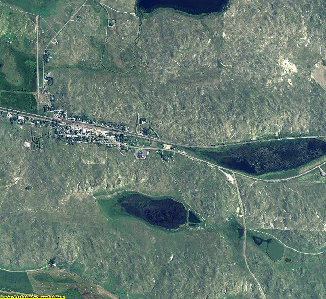 Grant County, Nebraska aerial photography