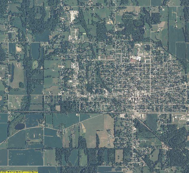 Greene County, Indiana aerial photography