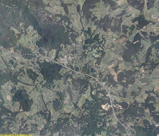 Greene County, Virginia aerial photography