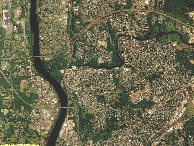 Hampden County, Massachusetts aerial photography