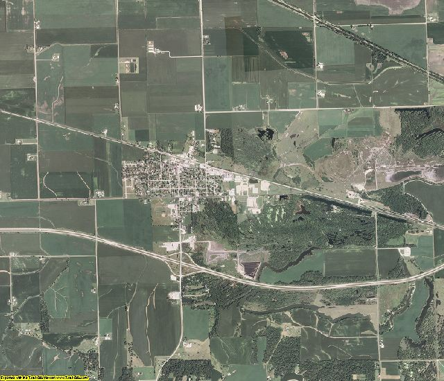 Henry County, Illinois aerial photography