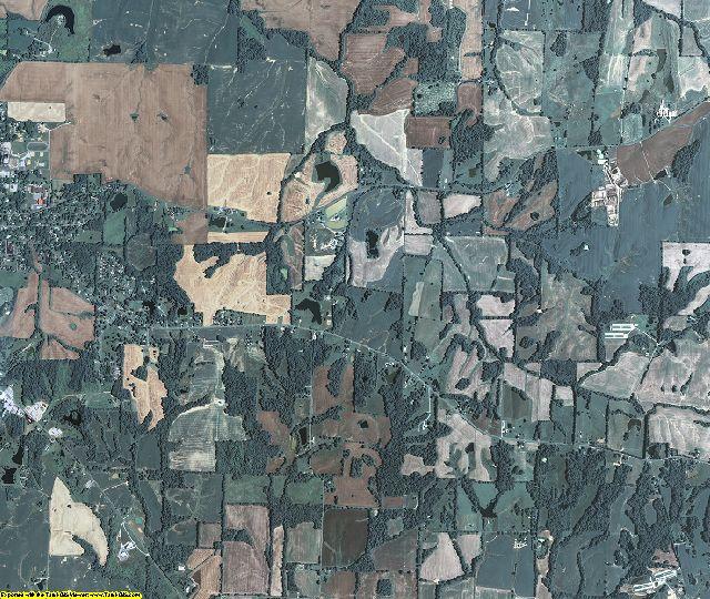 Hickman County, Kentucky aerial photography