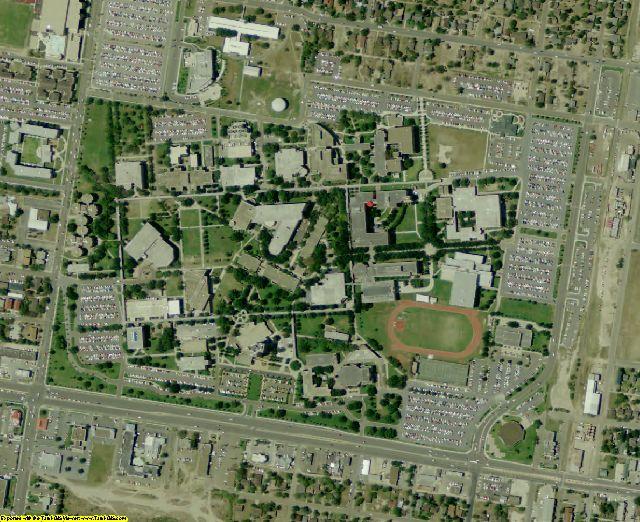 Hidalgo County, TX aerial photography detail