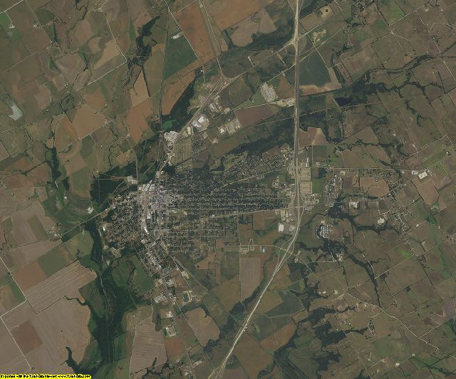 Hill County, Texas aerial photography