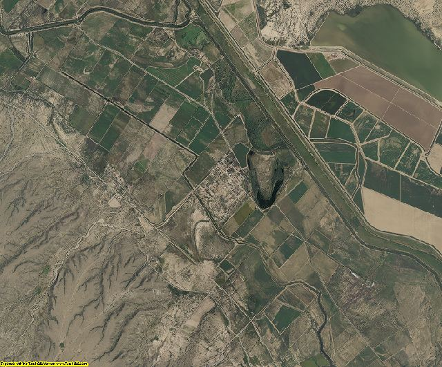 Hudspeth County, Texas aerial photography