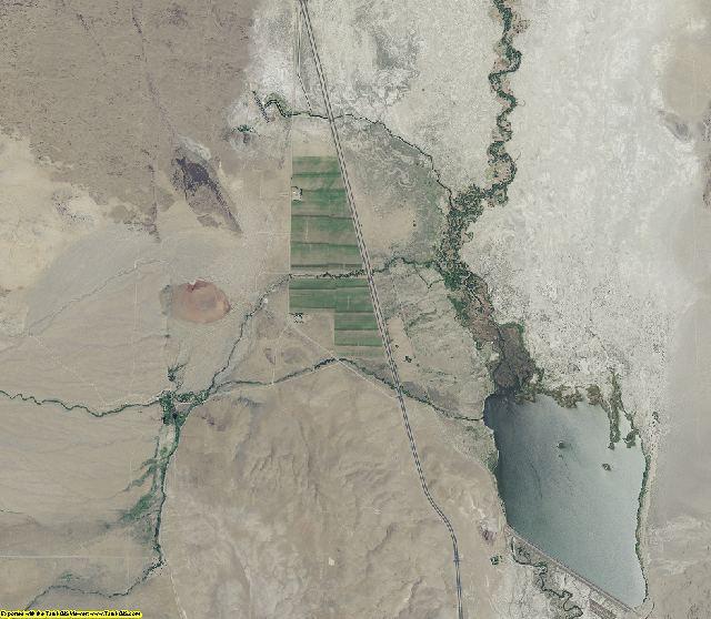 Inyo County, California aerial photography