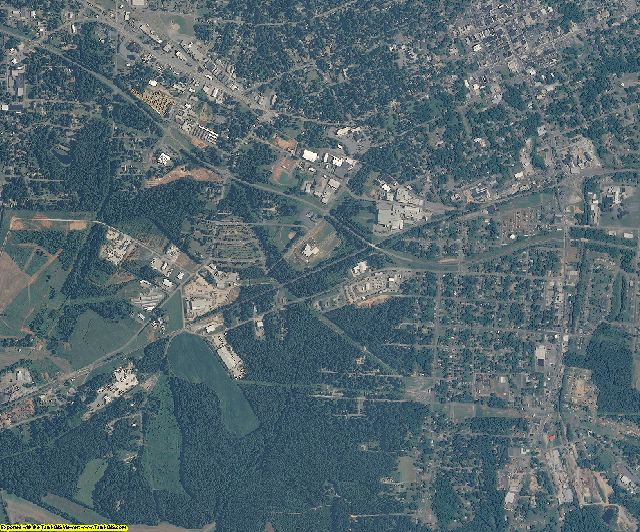 Iredell County, North Carolina aerial photography