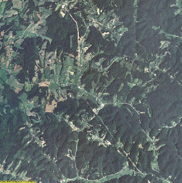 Jackson County, Kentucky aerial photography