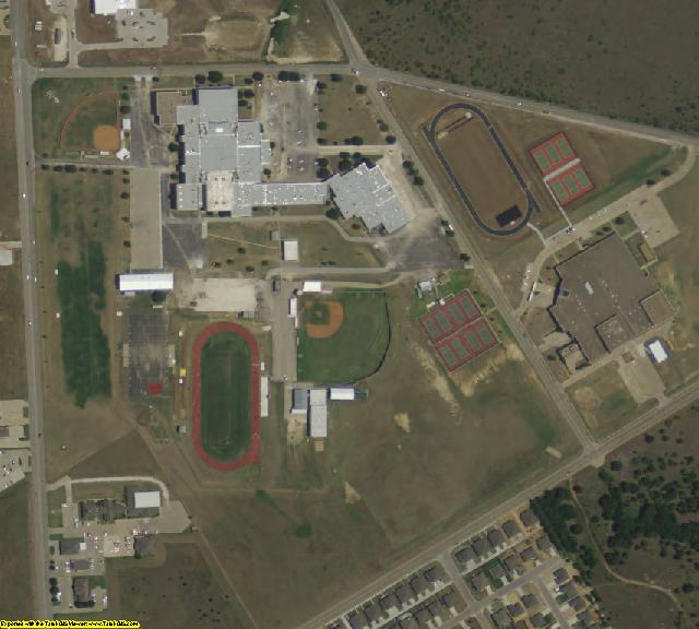Johnson County, TX aerial photography detail